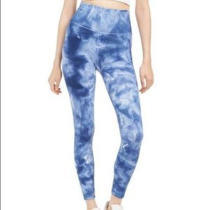 Free People Size XS Small Blue Good Karma Leggings